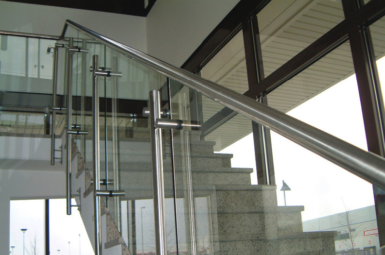 Our hand rails meet the most demanding visual specifications.