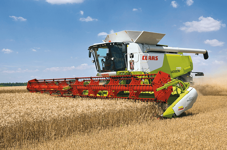 "More and more products for combine harvesters are ""made by Welser"" including cutter bars, baling presses, cab sections and filling pipes."