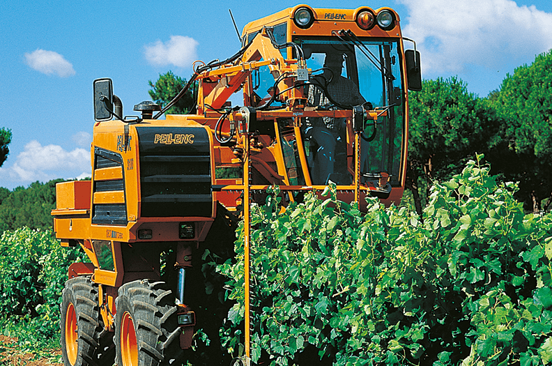 We supply cab sections and also C-sections for the guide tracks of grape harvesting machines.