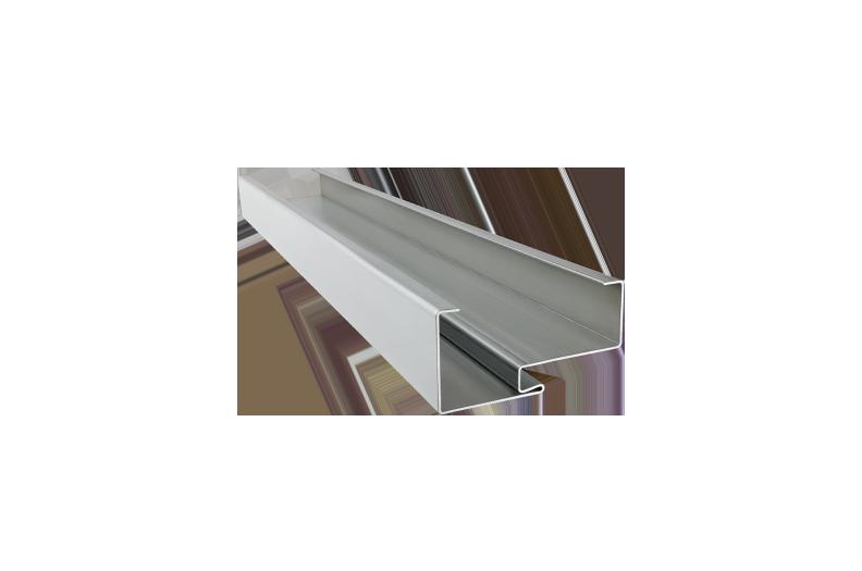 Threshold profile for sliding doors