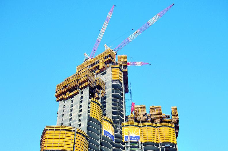 Vägg- och takformar samt klätter- och brobalkformar från Welser Profile användes även vid bygget av Burj Khalifa.